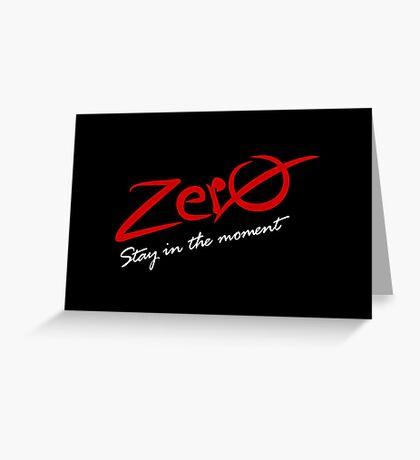 Zero VRS2 Greeting Card