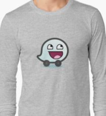 Awesome Waze Face - Boy Long Sleeve T-Shirt