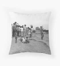 Sad Day for Photojournalism  Throw Pillow