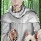 Bernard de Clairvaux by Rowan  Lewgalon