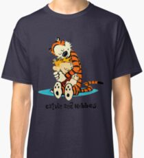 Hug Calvin and Hobbes Classic T-Shirt