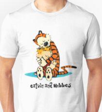 Hug Calvin and Hobbes Unisex T-Shirt