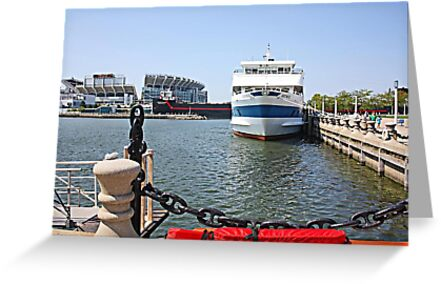 A Good Time In Cleveland Harbor by Jack Ryan