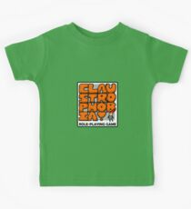 Claustrophobia Role-Playing Game Kids Tee