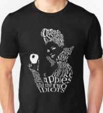 The Evil Queen - Calligram - color Black Unisex T-Shirt