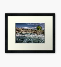 HDR River-Pueblo Colorado Framed Print