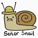 Senor Snail  by CharlieeJ