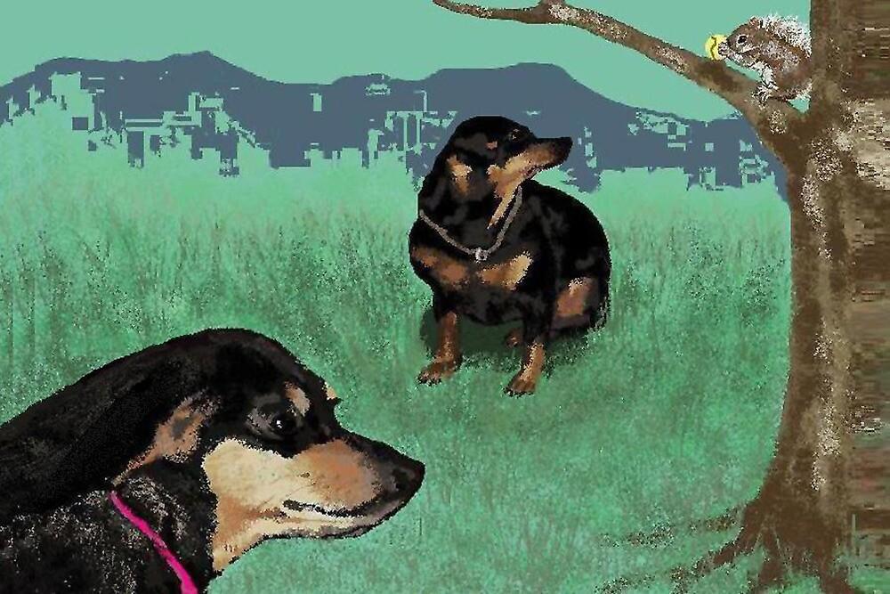 Winnie and Ding by Carole Boyd