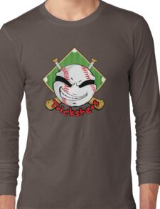 Tricksters Baseball Logo Long Sleeve T-Shirt
