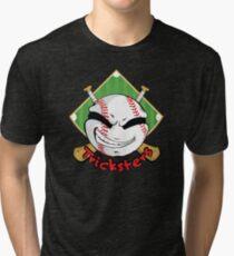 Tricksters Baseball Logo Tri-blend T-Shirt