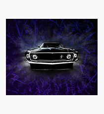 1969 FORD MUSTANG. Photographic Print