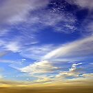 Textured Sky VI by Hugh Fathers