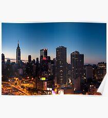 Sunrise in New York City Poster