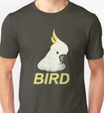 BIRD - Sulphur-crested Cockatoo Unisex T-Shirt