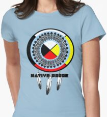 Blackfoot Pride Womens Fitted T-Shirt