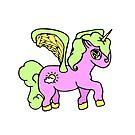 Cloudy Unicorn 4 by loandbehold