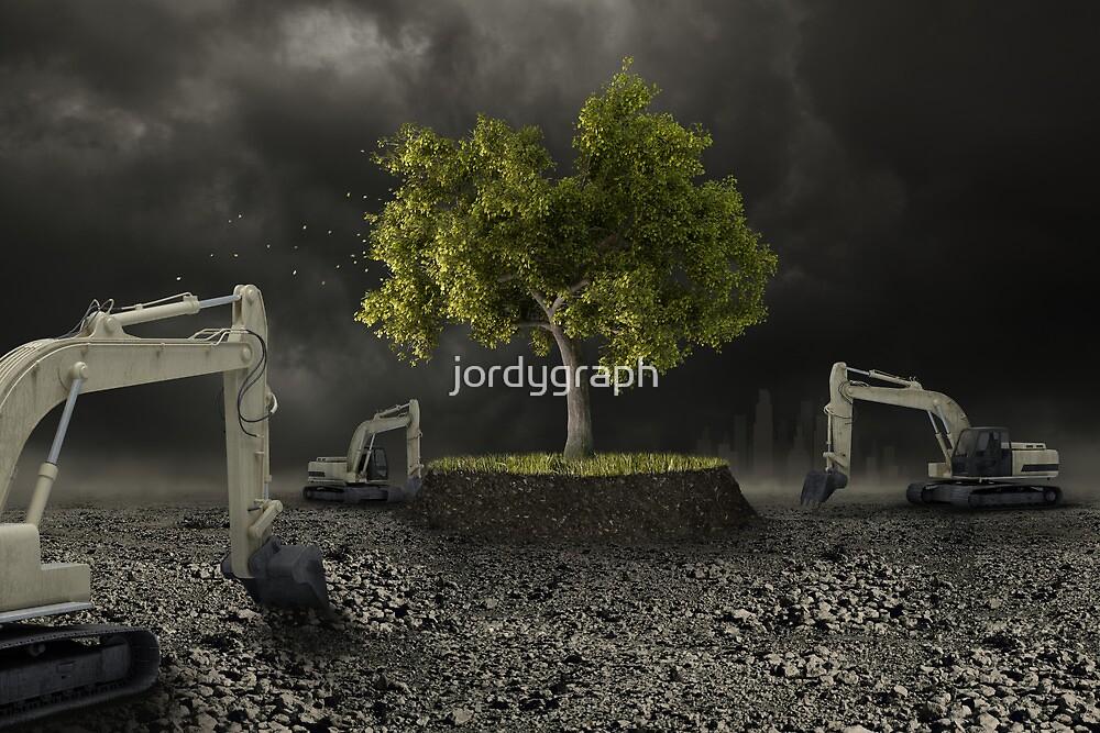 The Last tree by jordygraph