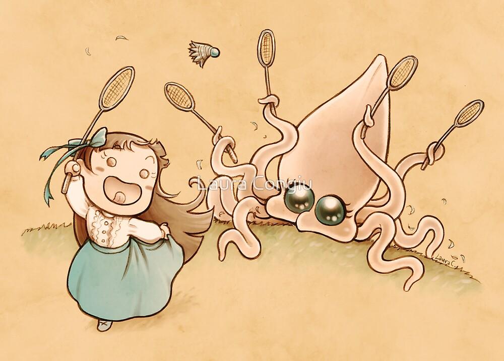 Me & the Kraken - Victorian edition: Badminton by Laura Congiu