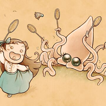 Me & the Kraken - Victorian edition: Badminton by laurawho