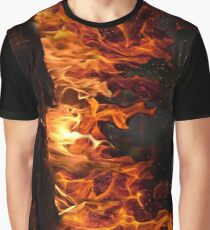 Fireplace Graphic T-Shirt