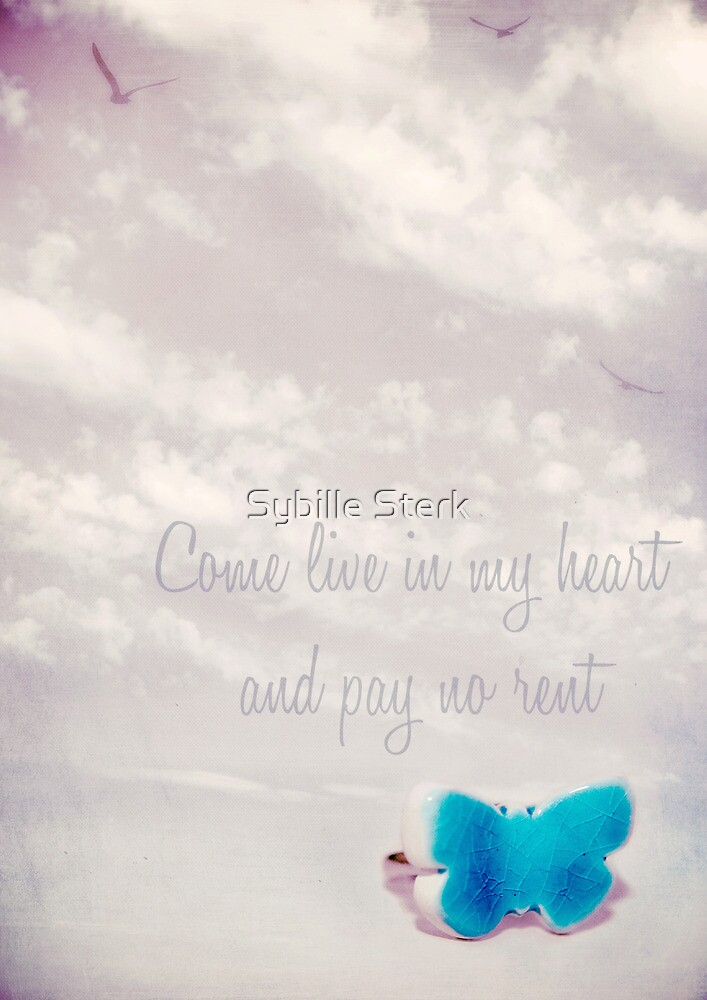 come live in my heart by Sybille Sterk