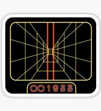 Stay on target 1977 Sticker