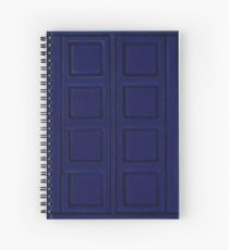 New Blue Book Spiral Notebook