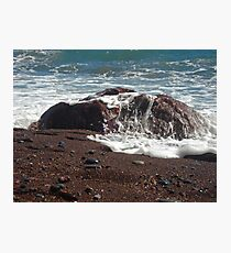 redrock Photographic Print