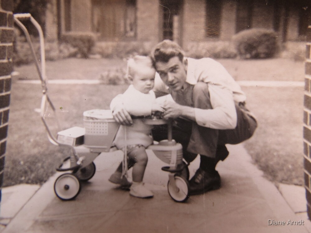 My Daddy and My Brother...1946..AS IS   by Diane Arndt