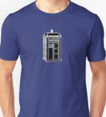Tardis Cutout T-Shirt