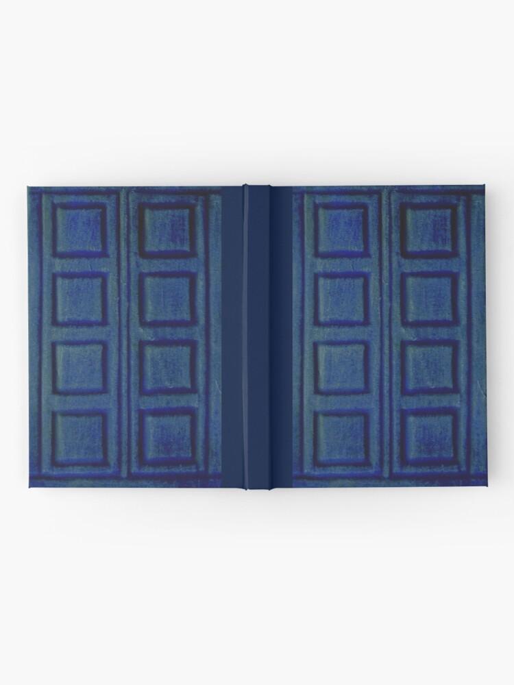 Alternative Ansicht von Blaues Buch Notizbuch