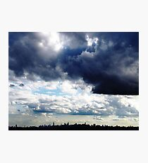 New York City Clouds Photographic Print