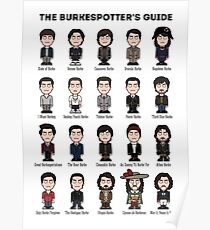 The Burkespotter's Guide (poster/card/notebook) Poster