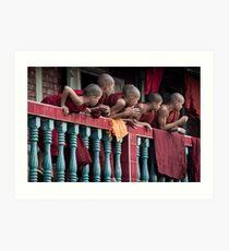 Burma 2013 Art Print
