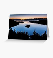 Emerald Bay Morning - Lake Tahoe Greeting Card