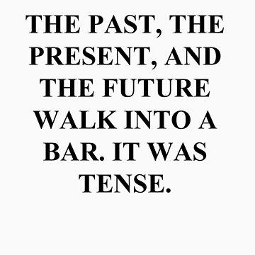 Funny Grammar Shirt by MarinaArts