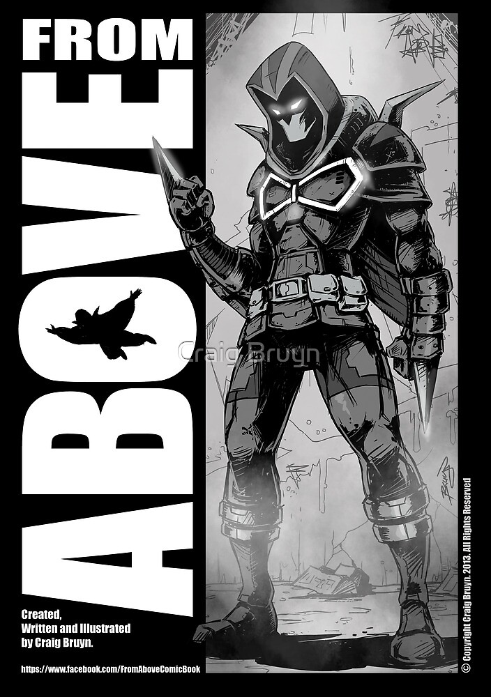 From Above Comic Book by Craig Bruyn
