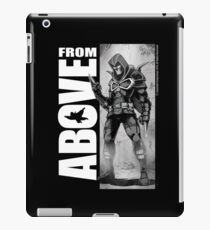 From Above Comic Book iPad Case/Skin