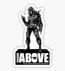 From Above Comic Book - character 01 Sticker