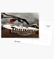 Triumph Postcards