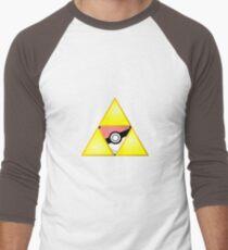 Zelda Triforce ( courage, wisdom, power, and pokemon ) T-Shirt