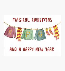 from weasley family to you Photographic Print