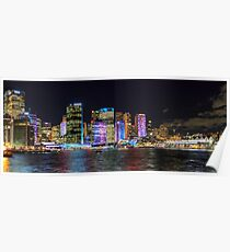 Vivid Circular Quay, Sydney Poster