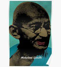 Mahatma Gandhi Pop Art Pictures Poster