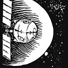 Orbital Satellite Delta-6 (White Version) by Monkeynaut