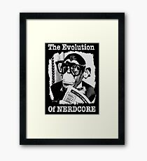 The Evolution of Nerdcore Framed Print
