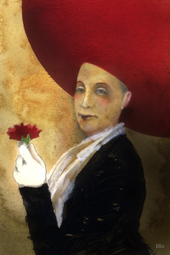The Red Carnation by lillo