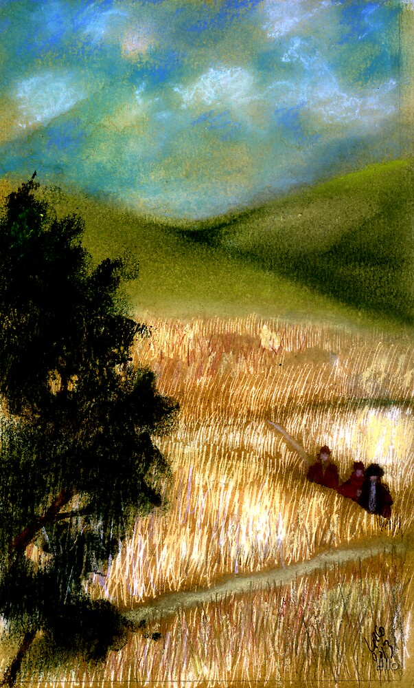 In the Fields by lillo