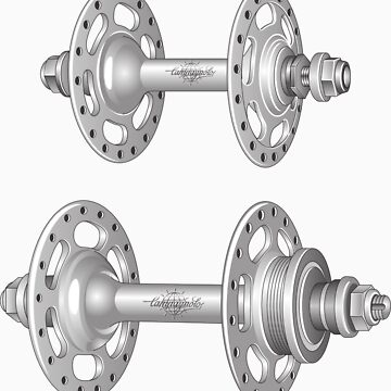 Campagnolo Record Pista Track Hubs by BonkersStyle