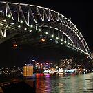 Sydney at night by TJSphoto